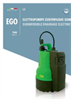 Model EGO - Submersible Drainage Electric Pumps Brochure