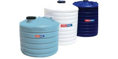 Polidas - Model D 500 - Vertical Water Tanks