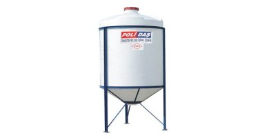 Polidas - Model K 90 - Polyethylene Screw Top Closed Tapered Tanks
