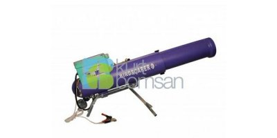 Model KBSU1 - Electronic Bird Scarer Cannon with Plastic Equipment