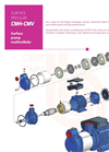 Model CMH 12.37 - Horizontal Centrifugal Multistage Pumps Brochure