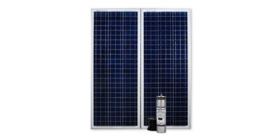 Advanced Power Inc. (API) - Model KS07 950 GPD (K170R2) - Double Panel Solar Pump Systems