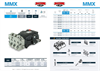 Mazzoni - Model MMX - High Pressure Pump Brochure