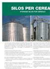 Silos in Galvanized Steel for Cereals Datasheet