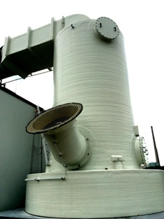 inlet air scrubber