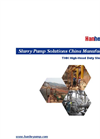 Model THH - high-Head Slurry Pump Brochure