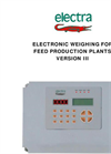 Model VERSION III - Electronic Weighing for Feed Production Plants Brochure