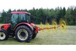 Model SP4 - 205 - Universal Tedder and Delivery Rake