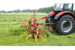 Model SP4 - 152 - Universal Tedder and Delivery Rake