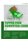 Model KDC - Combi Tipper Feed Conveyor Brochure