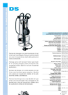 DS - Submersible Pumps Data Sheets