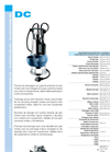 DC - Submersible Pumps Data Sheets