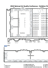 National Air Quality Conference - 2018 - Exhibitor Floorplan