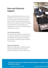 Parts & Technical Support