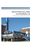 Solvent Recovery Adsorption and Distillation Systems - Brochure
