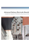Advanced Battery Electrode Manufacturing - Brochure