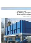 Epsilon - Regenerative Thermal Oxidizer (RTO) - Brochure
