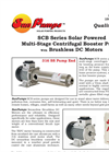 Model SCB-10-120P-48 BL - Solar Centrifugal Booster Pump Brochure