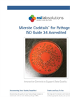 Microbe Cocktails - Pathogens ISO Guide 34 Accredited - Datasheet