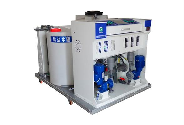 OURUI - Model RN - Integrated Electrochlorination system