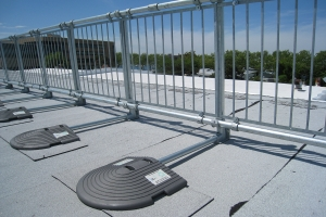 Kee Safety - Model KeeGuard - Safety Compliant Fall Protection Railing System For Standing Seam Metal Roofs