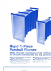 Parshall Flumes Brochure