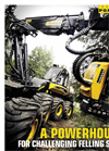PONSSE - Model Baer 8w - Harvester Brochure