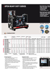 Lombardini - EPA Certified - Model Heavy Duty Series - Open Diesel Generator Brochure