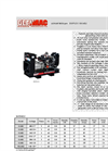 Model DUPLEX GU40J - Open Diesel Generators Brochure