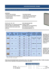 Ulpatek - Model Gel Type - HEPA Ceiling Filter - Brochure