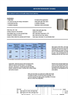 Ulpatek - High Capacity HEPA Filter with Single Pleat - Brochure