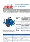 6HT-DDST-3-D2011 Self Priming Cast Iron Trash Pumps (Wet Prime) Brochure