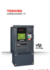 Toshiba - Model P9 - Low Voltage Adjustable Speed Drive Brochure