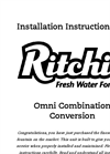 Omni - Model 18800 - Combination Conversion Automatic Waterer Brochure