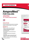 AMPROMED - Model CALVES - Soluble Powder/Coccidiostat Brochure