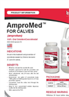 AMPROMED - Model CALVES - Liquids Amprolium Brochure