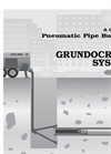 Grundocrack - Pneumatic Pipe Bursting System - Brochure