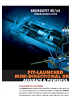 Grundopit - Model 40/60 - Pit Launched Directional Drilling System Brochure