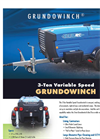 Grundowinch - Constant Tension Variable Speed Winch Brochure