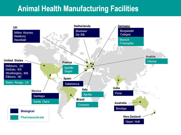 Merck Animal Health is known for MSD Animal Health outside the United States and Canada.