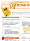 TROMINO - Seismic Surveys and Vibration Monitoring System for Geologya - Brochure