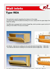 Model REA - Wall Inlets Brochure