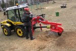Model ST27T - 3-Point Linkage PTO Driven Stump Cutter