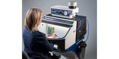 Comco - Model ProCenter Plus™ - Combined Workstation and Dust Collection System