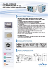 Model CBA-080/1200-HC-DSA-CE - High Pressure Laser Fume Collectors Datasheet