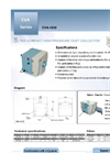 Model CVA-1030 - Dust Collector Datasheet