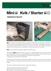Model Mini 3-10 kg - Feeders for Piglets Brochure