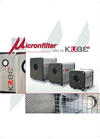 Micronfilter - Model Kube Series - Air Filters - Brochure
