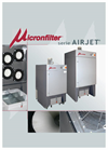 Micronfilter - Model Airjet - Air Filters - Brochure