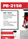Pulse-Bac - Model 2150 - High Efficiency Particulate Air Vacuum - Brochure